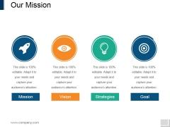 Our Mission Ppt PowerPoint Presentation Icon Portrait