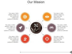 Our Mission Ppt PowerPoint Presentation Icon