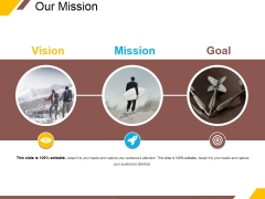 Our Mission Ppt PowerPoint Presentation Icon Slides