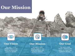 Our Mission Ppt PowerPoint Presentation Ideas Design Ideas