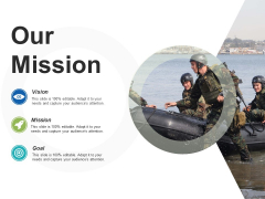 Our Mission Ppt PowerPoint Presentation Ideas Example