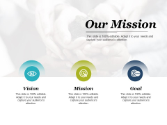 Our Mission Ppt PowerPoint Presentation Ideas Icon