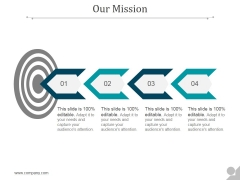 Our Mission Ppt PowerPoint Presentation Influencers