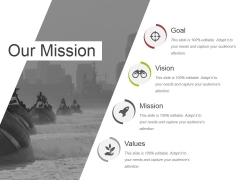 Our Mission Ppt PowerPoint Presentation Infographics Infographics