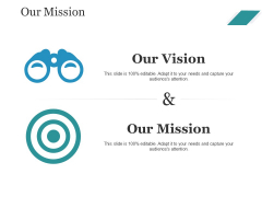 Our Mission Ppt PowerPoint Presentation Infographics Objects