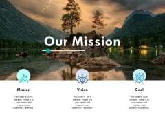 Our Mission Ppt PowerPoint Presentation Infographics Samples