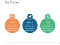Our Mission Ppt PowerPoint Presentation Information