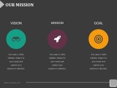 Our Mission Ppt PowerPoint Presentation Inspiration Objects