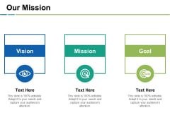 Our Mission Ppt PowerPoint Presentation Inspiration Outline