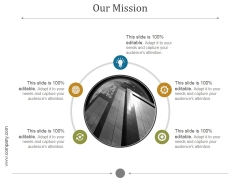 Our Mission Ppt PowerPoint Presentation Inspiration