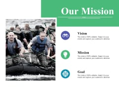 Our Mission Ppt PowerPoint Presentation Inspiration Topics