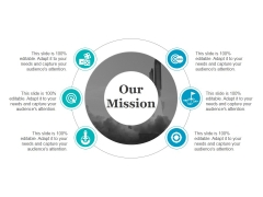 Our Mission Ppt PowerPoint Presentation Layouts Influencers