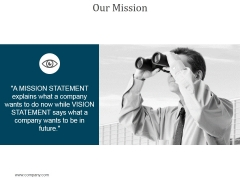 Our Mission Ppt PowerPoint Presentation Layouts