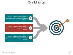 Our Mission Ppt PowerPoint Presentation Model Demonstration