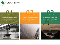 Our Mission Ppt PowerPoint Presentation Model Design Ideas