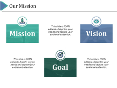 Our Mission Ppt PowerPoint Presentation Model Guidelines