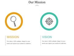 Our Mission Ppt PowerPoint Presentation Model Slide