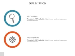 Our Mission Ppt PowerPoint Presentation Outline