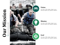 Our Mission Ppt PowerPoint Presentation Outline Slideshow