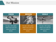 Our Mission Ppt PowerPoint Presentation Picture