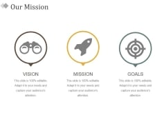 Our Mission Ppt PowerPoint Presentation Pictures Inspiration