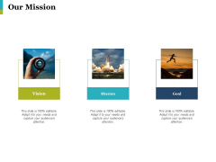 Our Mission Ppt PowerPoint Presentation Pictures Outfit