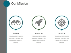 Our Mission Ppt PowerPoint Presentation Pictures