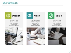Our Mission Ppt PowerPoint Presentation Portfolio Good