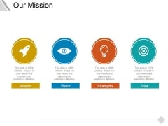 Our Mission Ppt PowerPoint Presentation Professional Deck