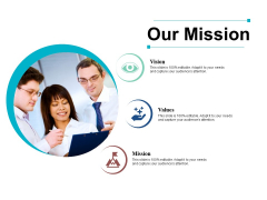 Our Mission Ppt PowerPoint Presentation Professional Model