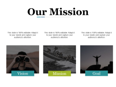 Our Mission Ppt PowerPoint Presentation Professional Slides