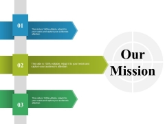 Our Mission Ppt PowerPoint Presentation Professional Visuals