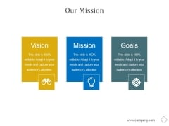 Our Mission Ppt PowerPoint Presentation Sample