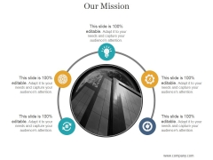 Our Mission Ppt PowerPoint Presentation Shapes