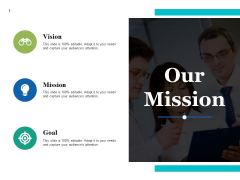 Our Mission Ppt PowerPoint Presentation Slides Clipart