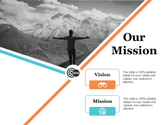 Our Mission Ppt PowerPoint Presentation Slides Files