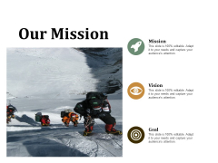 Our Mission Ppt PowerPoint Presentation Slides Tips
