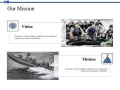 Our Mission Ppt PowerPoint Presentation Styles Designs