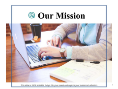 Our Mission Ppt PowerPoint Presentation Styles Icons