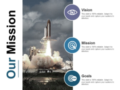 Our Mission Ppt PowerPoint Presentation Styles Influencers
