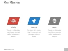 Our Mission Ppt PowerPoint Presentation Styles