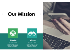 Our Mission Ppt PowerPoint Presentation Summary Icon