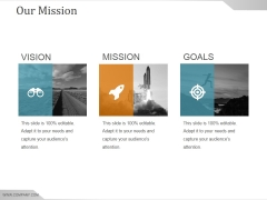 Our Mission Ppt PowerPoint Presentation Summary Introduction