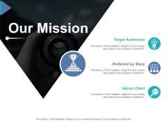 Our Mission Ppt PowerPoint Presentation Summary Maker