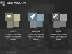 Our Mission Ppt PowerPoint Presentation Template
