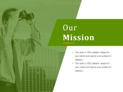 Our Mission Ppt PowerPoint Presentation Tips