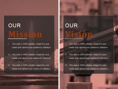 Our Mission Ppt PowerPoint Presentation Topics