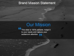 Our Mission Template 1 Ppt PowerPoint Presentation Inspiration Rules