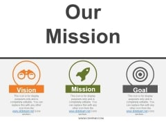 Our Mission Template 1 Ppt PowerPoint Presentation Model Graphics Download