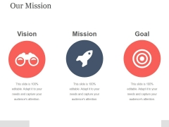 Our Mission Template 1 Ppt PowerPoint Presentation Sample